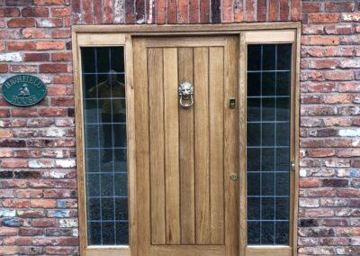 European Oak Front Door