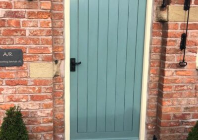 Hardwood T&G Front Door