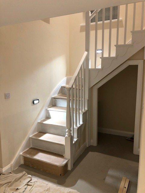 Staircase installation