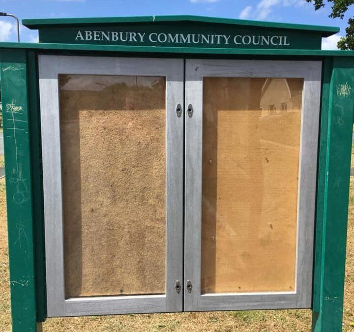 Community Council Notice Board