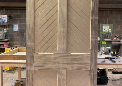 Accoya & Tricoya door ready for site installation