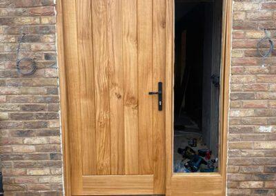 European Oak door set