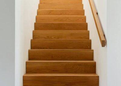 Bespoke American White Oak stairs