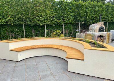 Garden seating manufactured in Lignia timber